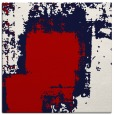 rug #1051902 | square red abstract rug