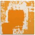 rug #1052010 | square light-orange abstract rug