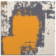 rug #1052014 | square light-orange abstract rug