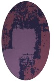 rug #1052121 | oval graphic rug
