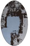 rug #1052131 | oval graphic rug