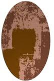 rug #1052167   oval abstract rug