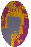 rug #1052187   oval abstract rug
