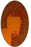 rug #1052289   oval abstract rug