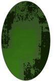 rug #1052302   oval light-green abstract rug