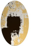 rug #1052321 | oval abstract rug