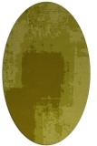 rug #1052354   oval light-green rug