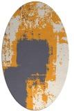 rug #1052384 | oval abstract rug