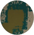 rug #1052870 | round brown abstract rug
