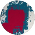 rug #1052874 | round red abstract rug