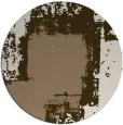 rug #1052910 | round beige rug