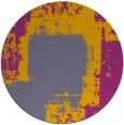 rug #1052923 | round abstract rug