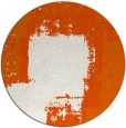 rug #1053034 | round red-orange abstract rug