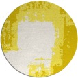 rug #1053046 | round white abstract rug