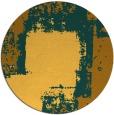rug #1053082 | round yellow graphic rug