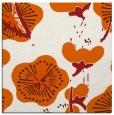 rug #105333 | square red-orange rug