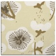 rug #105357 | square yellow natural rug