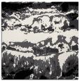 rug #1055334 | square black graphic rug