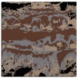 rug #1055346 | square brown abstract rug