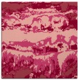 rug #1055558 | square pink graphic rug