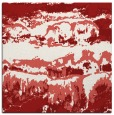 rug #1055590 | square red graphic rug
