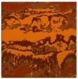rug #1055598 | square red-orange graphic rug