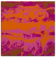rug #1055606 | square red-orange abstract rug