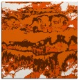 rug #1055610 | square red-orange abstract rug