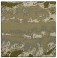rug #1055678 | square light-green graphic rug