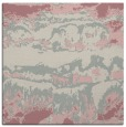 rug #1055686 | square pink graphic rug