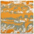 rug #1055690 | square light-orange graphic rug