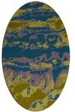 rug #1055779   oval abstract rug