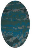 rug #1055833 | oval graphic rug