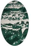 rug #1055836 | oval abstract rug