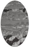 rug #1055893 | oval abstract rug