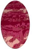 rug #1055929   oval abstract rug