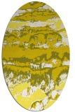 rug #1055992 | oval abstract rug