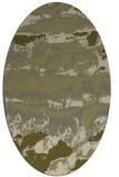 rug #1056046   oval light-green abstract rug