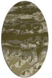 rug #1056047 | oval abstract rug