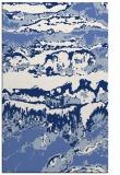 rug #1056114 |  blue abstract rug