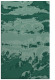 rug #1056122 |  blue-green graphic rug