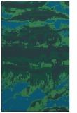 rug #1056134 |  blue graphic rug