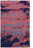 rug #1056162 |  blue-violet abstract rug