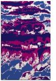 rug #1056170    blue-violet graphic rug