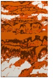 rug #1056346 |  red-orange abstract rug