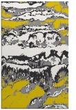 rug #1056390 |  yellow graphic rug