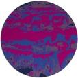 rug #1056470 | round blue rug