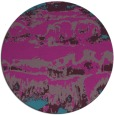 rug #1056518   round pink abstract rug