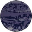 rug #1056526   round blue-violet rug
