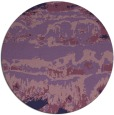 rug #1056534 | round blue-violet abstract rug